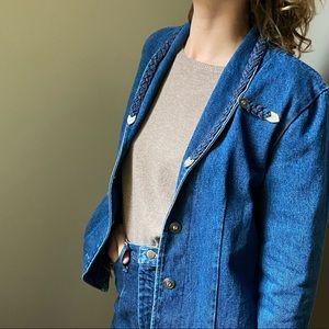 Vintage Simply Barbara Denim Jacket - Size S (EUC)